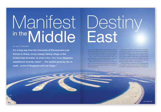 Featured Article - Manifest Destiny in the Middle East