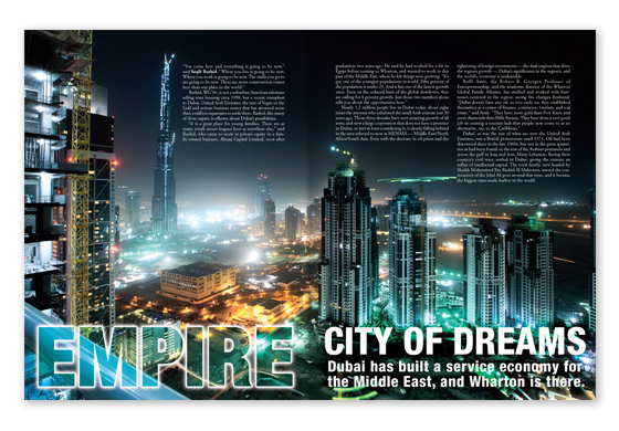 Featured Article - Empire City of Dreams