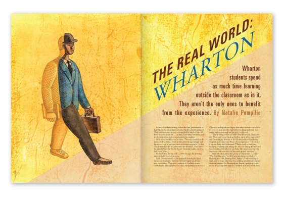 Featured Article - The Real World: Wharton