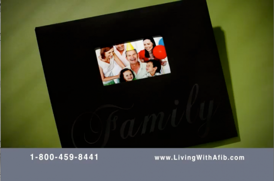 Living with Afib: Family Album TV Spot