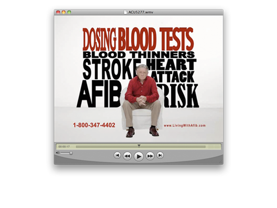 Living with Afib TV Spot