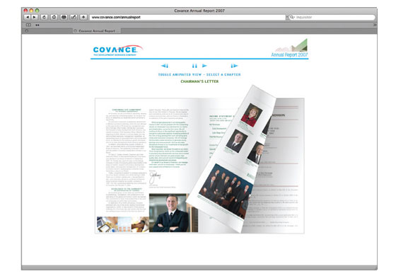 Online Annual Report